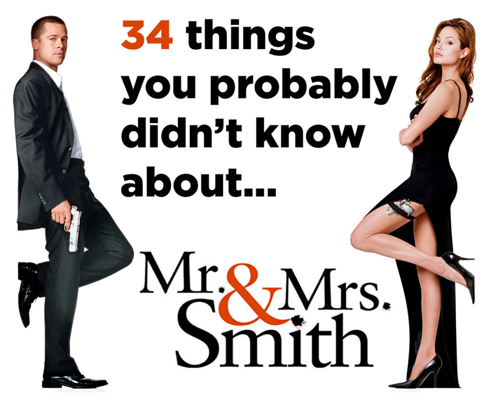 HQ Mr. & Mrs. Smith Wallpapers | File 135.05Kb