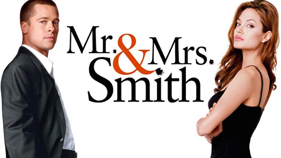 Nice Images Collection: Mr. & Mrs. Smith Desktop Wallpapers