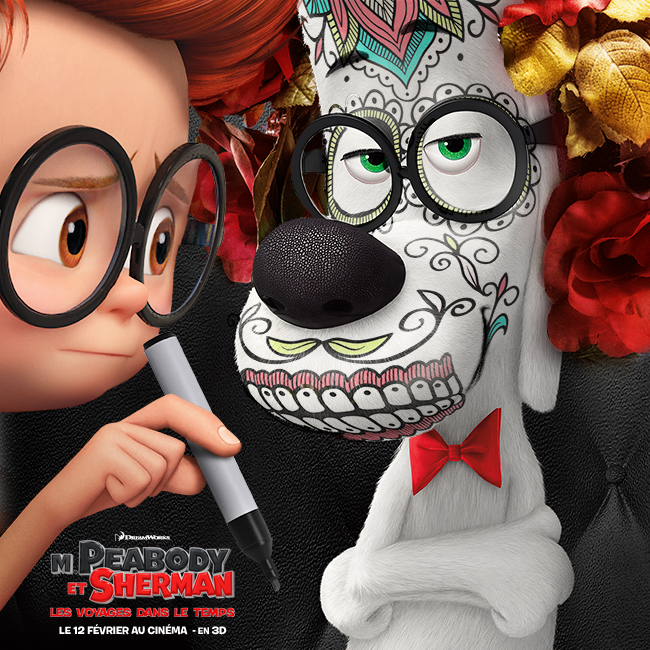 Mr. Peabody & Sherman Backgrounds, Compatible - PC, Mobile, Gadgets| 650x650 px