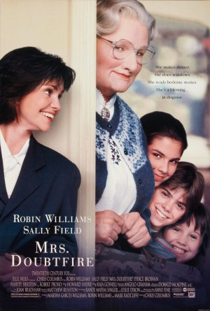 Nice wallpapers Mrs. Doubtfire 300x445px