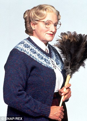 Nice wallpapers Mrs. Doubtfire 306x423px