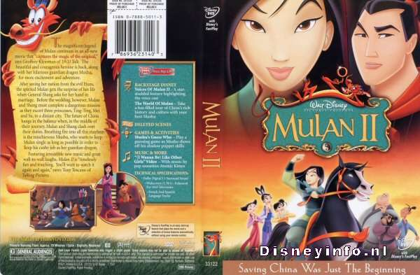 Mulan II HD wallpapers, Desktop wallpaper - most viewed