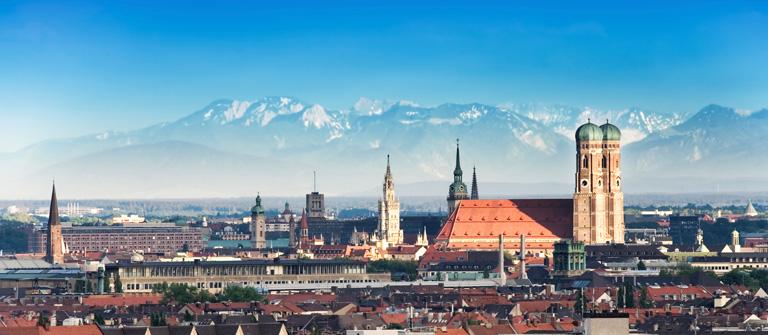 Munich Backgrounds, Compatible - PC, Mobile, Gadgets| 768x335 px