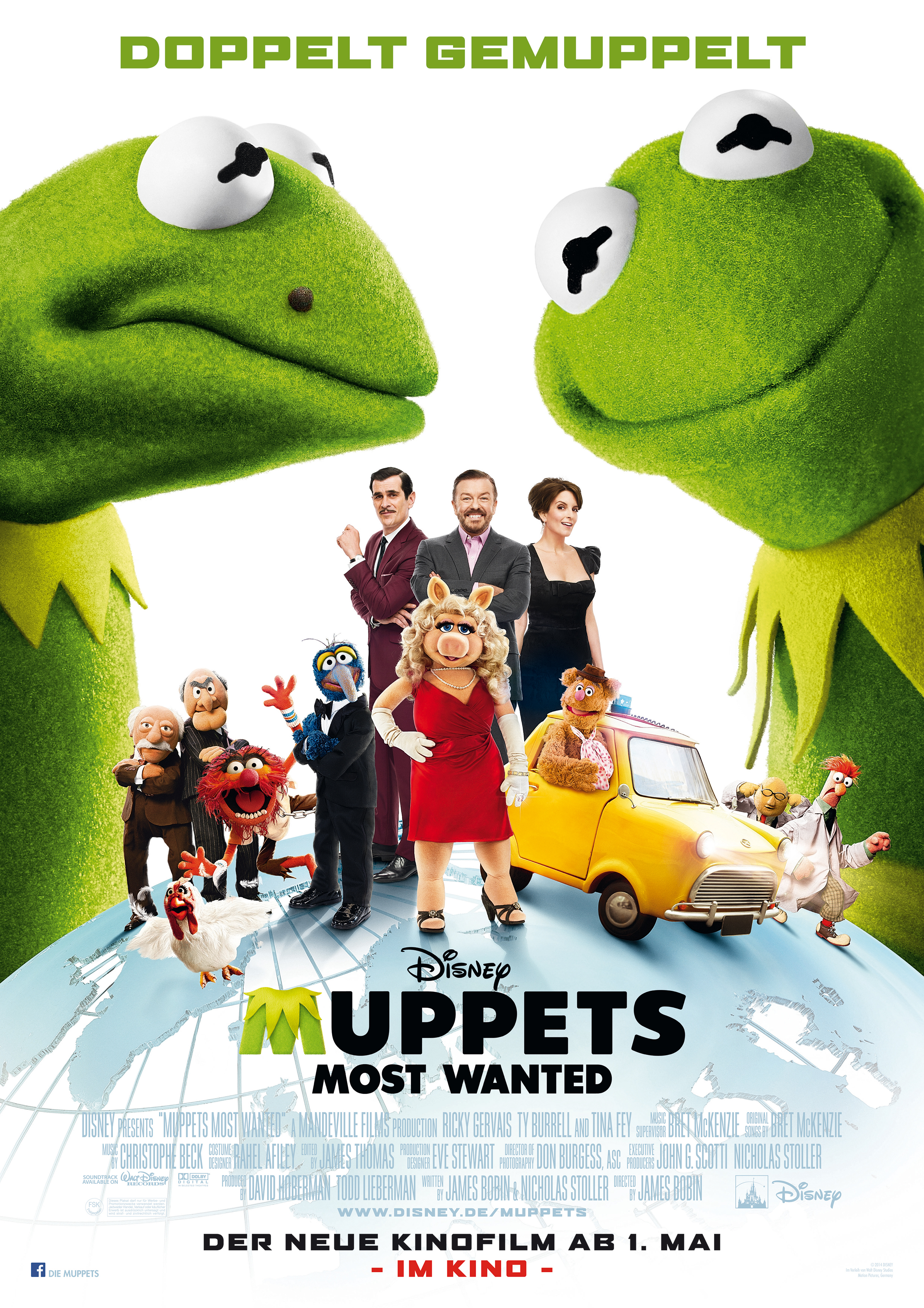 Images of Muppets Most Wanted | 2480x3508