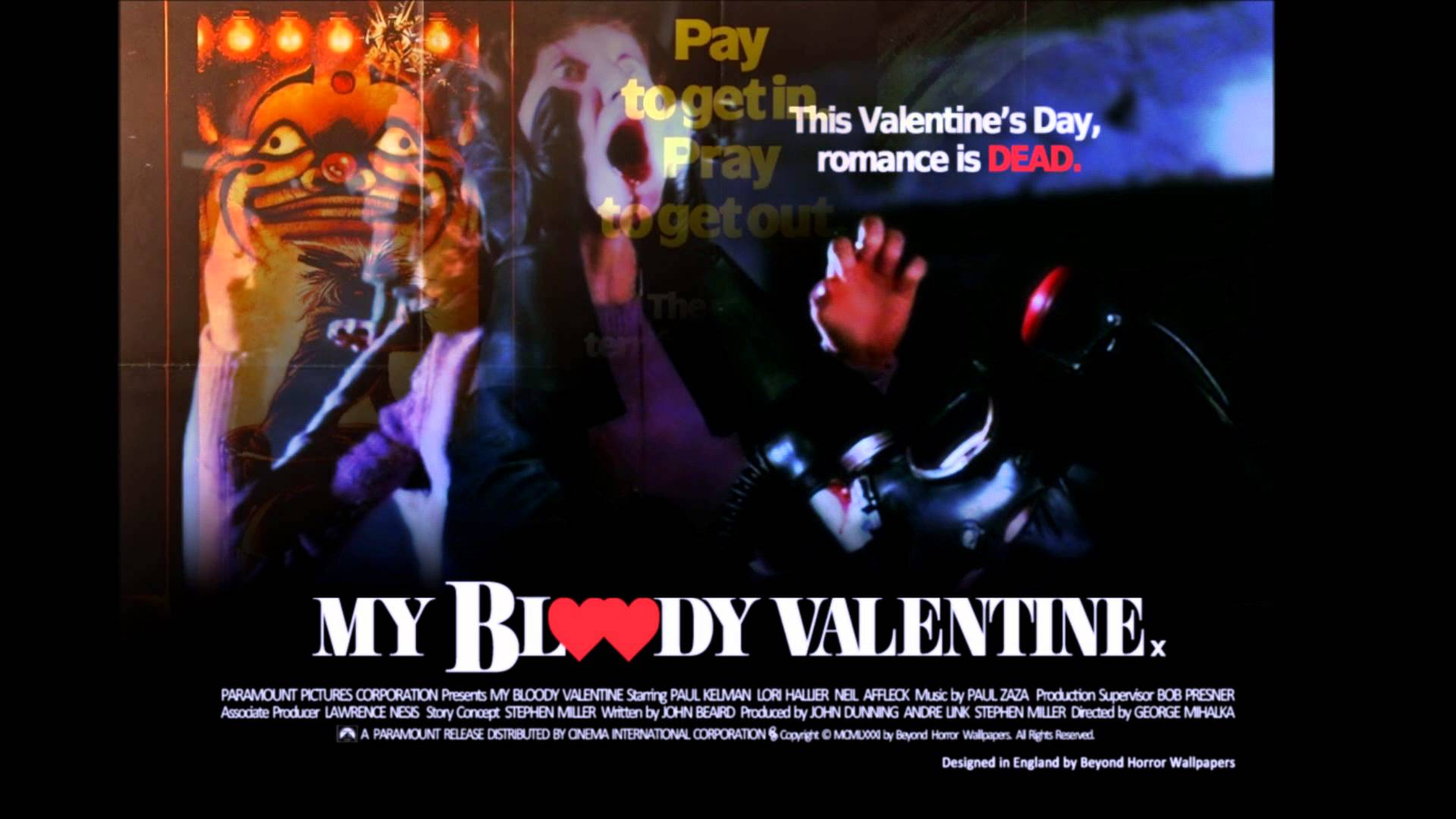 HQ My Bloody Valentine (1981) Wallpapers | File 127.98Kb