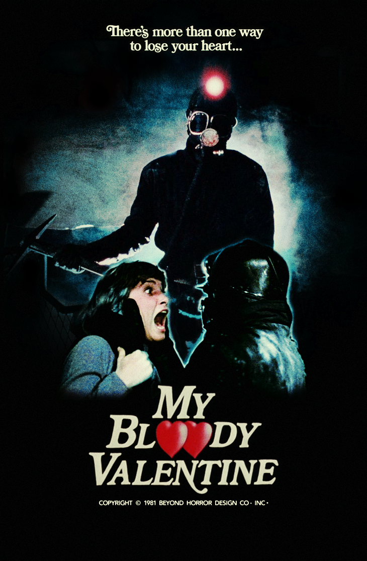 HD Quality Wallpaper | Collection: Movie, 730x1115 My Bloody Valentine (1981)
