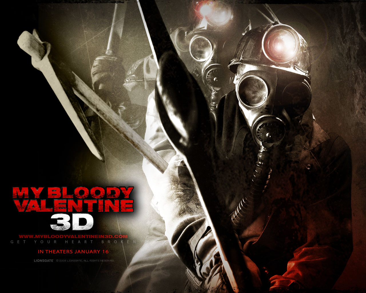 HD Quality Wallpaper | Collection: Movie, 1280x1024 My Bloody Valentine (2009)