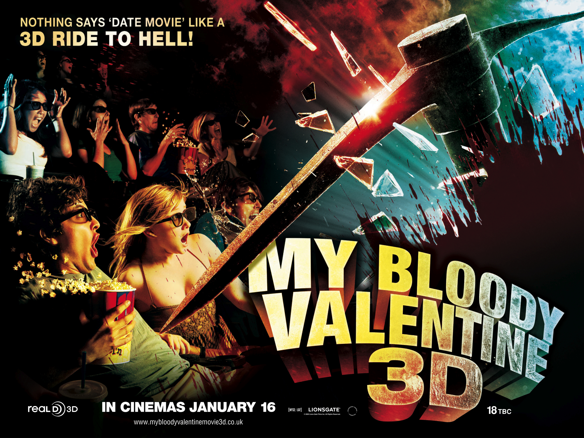 HQ My Bloody Valentine (2009) Wallpapers | File 3242.63Kb