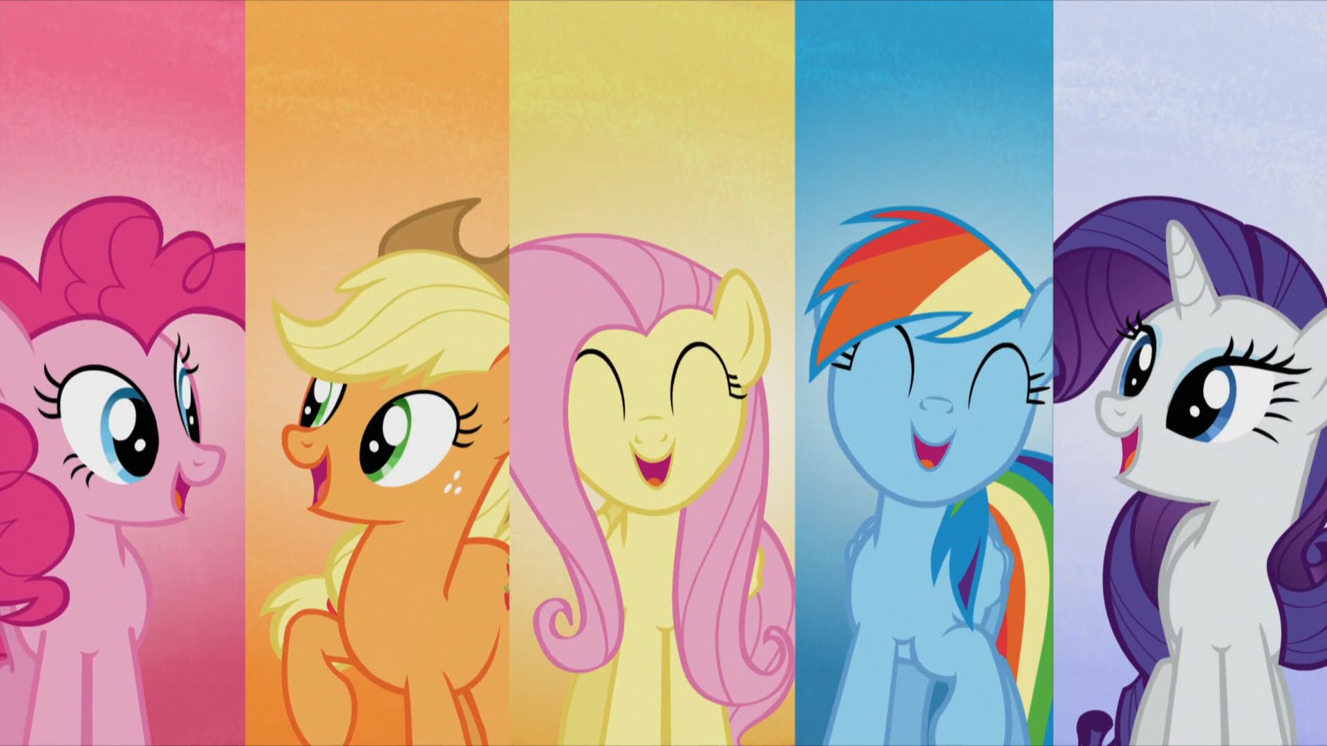 My Little Pony Backgrounds, Compatible - PC, Mobile, Gadgets| 1920x1080 px