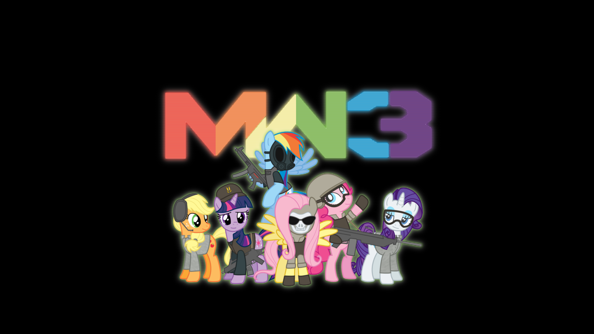 Nice wallpapers My Little Pony: Crossover 1920x1080px