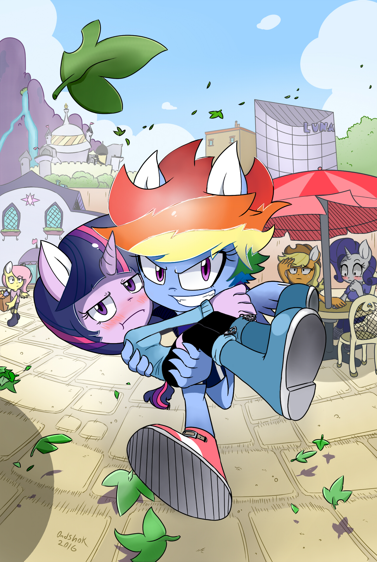 My Little Pony: Crossover Pics, Cartoon Collection