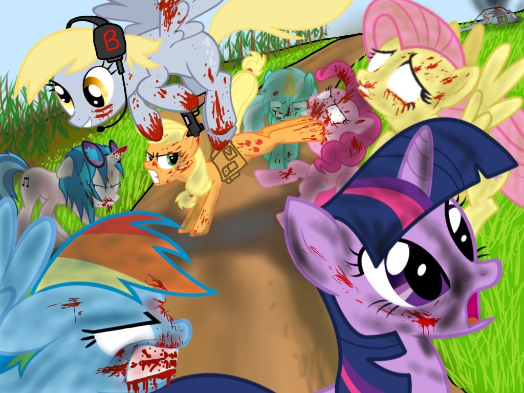 Images of My Little Pony: Crossover | 1024x768