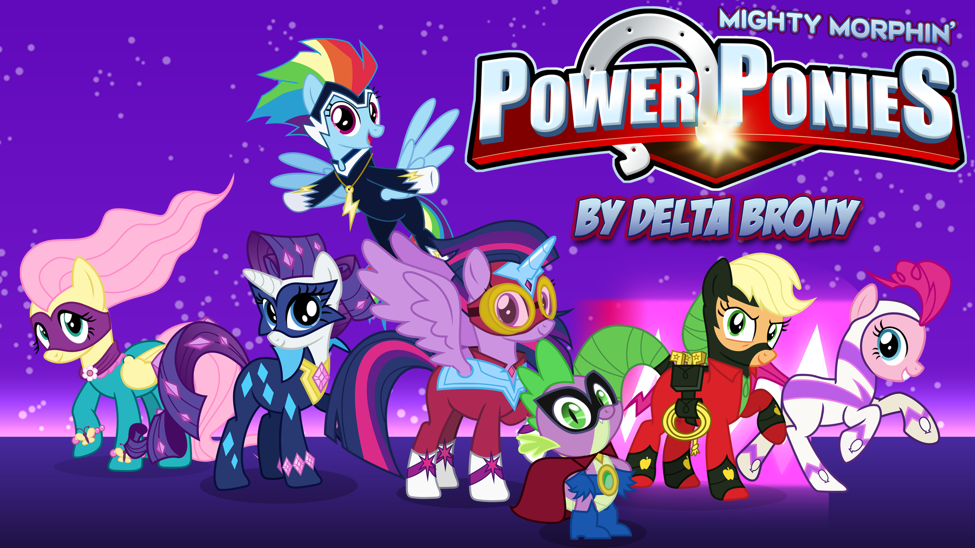 Nice Images Collection: My Little Pony: Crossover Desktop Wallpapers