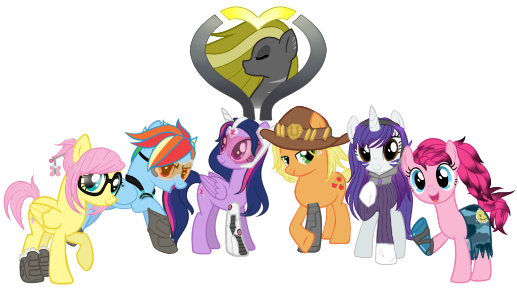 1024x576 > My Little Pony: Crossover Wallpapers