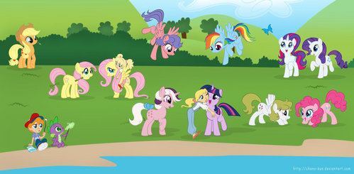499x245 > My Little Pony: Crossover Wallpapers