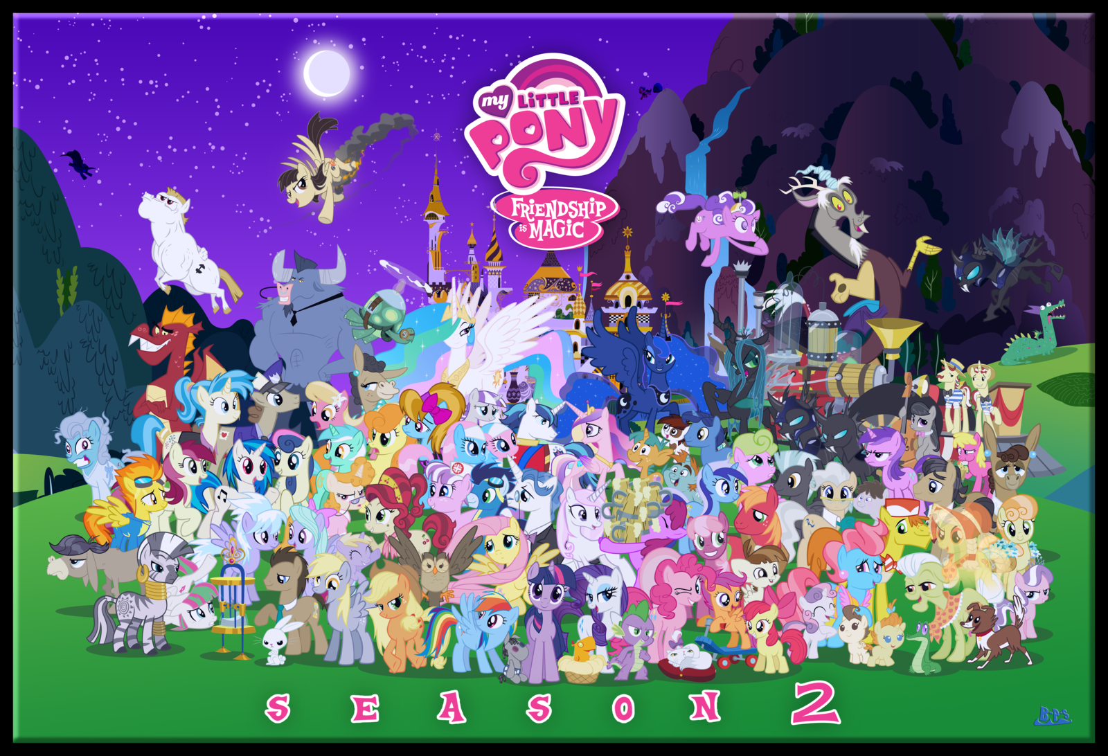 My Little Pony: Friendship Is Magic Backgrounds, Compatible - PC, Mobile, Gadgets| 1600x1092 px