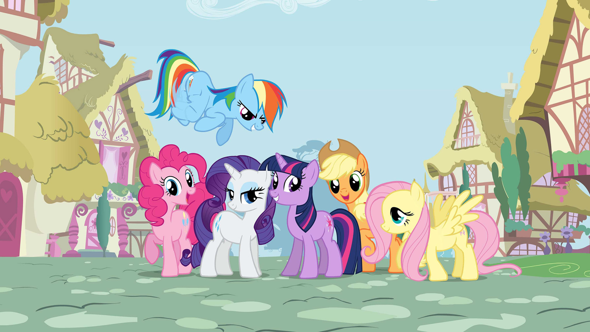 HD Quality Wallpaper | Collection: TV Show, 1920x1080 My Little Pony: Friendship Is Magic