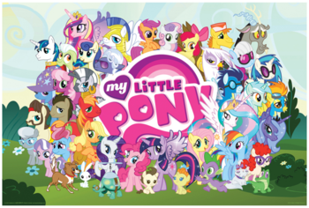 HQ My Little Pony: Friendship Is Magic Wallpapers | File 161.94Kb
