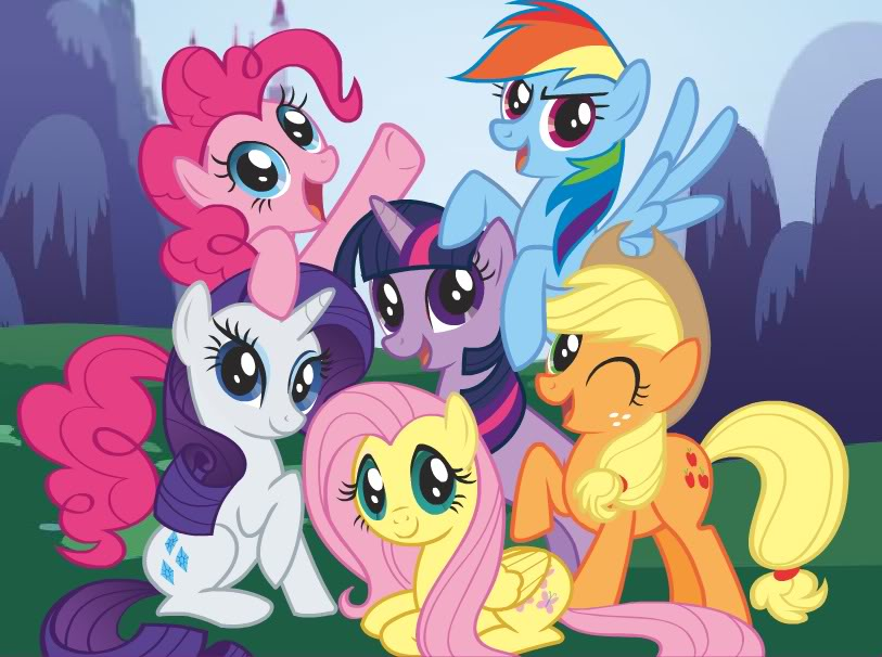 Nice Images Collection: My Little Pony: Friendship Is Magic Desktop Wallpapers
