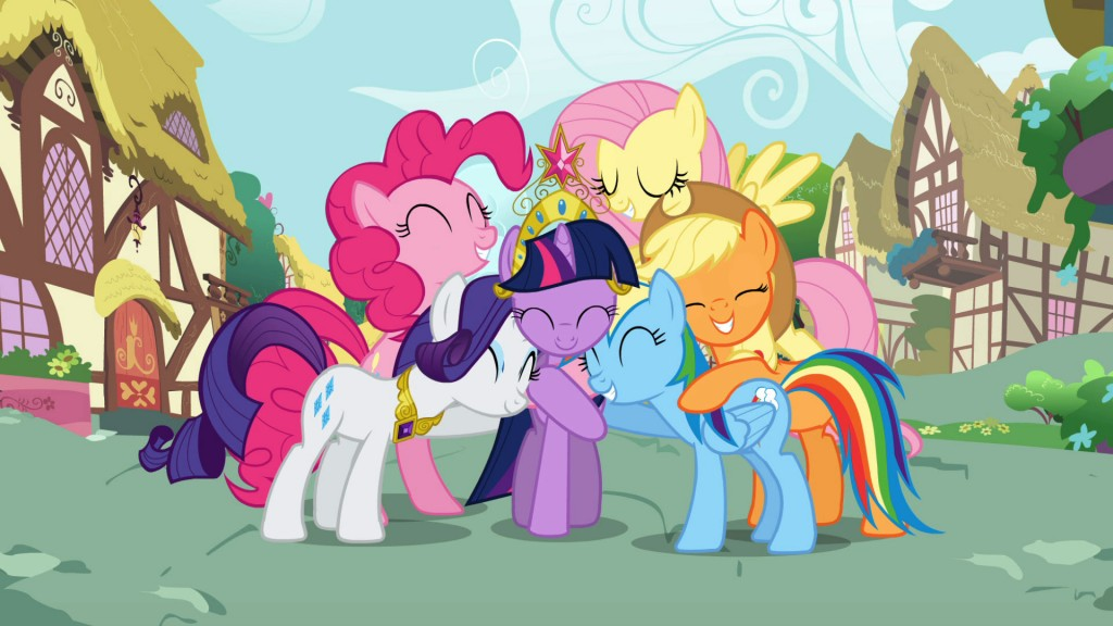 My Little Pony: Friendship Is Magic Backgrounds, Compatible - PC, Mobile, Gadgets| 1024x576 px