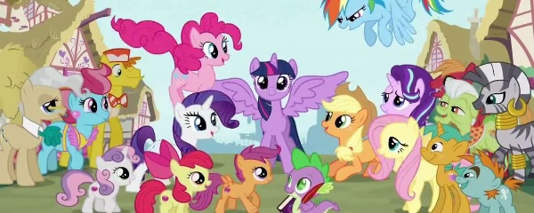 HD Quality Wallpaper | Collection: TV Show, 600x240 My Little Pony: Friendship Is Magic