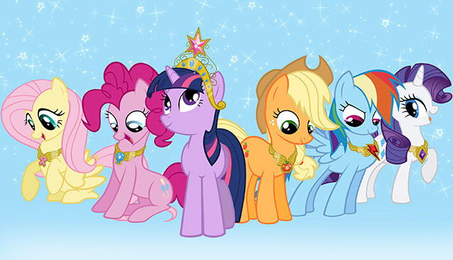 HQ My Little Pony: Friendship Is Magic Wallpapers | File 82.39Kb