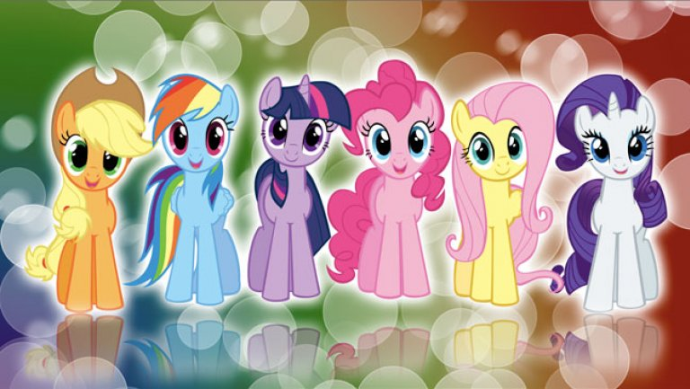 Nice wallpapers My Little Pony: Friendship Is Magic 768x433px