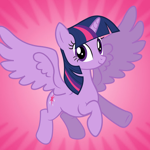 HD Quality Wallpaper | Collection: Cartoon, 512x512 My Little Pony