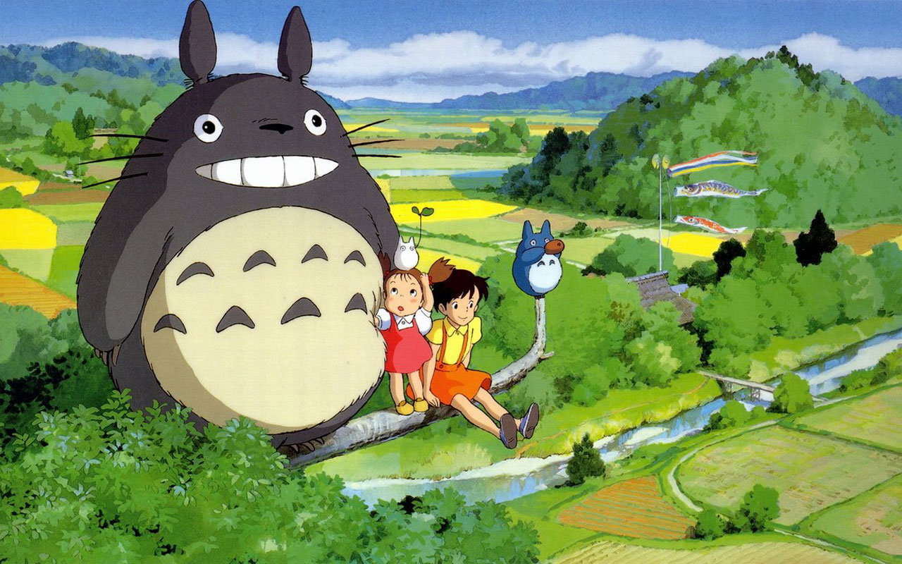 My Neighbor Totoro High Quality Background on Wallpapers Vista