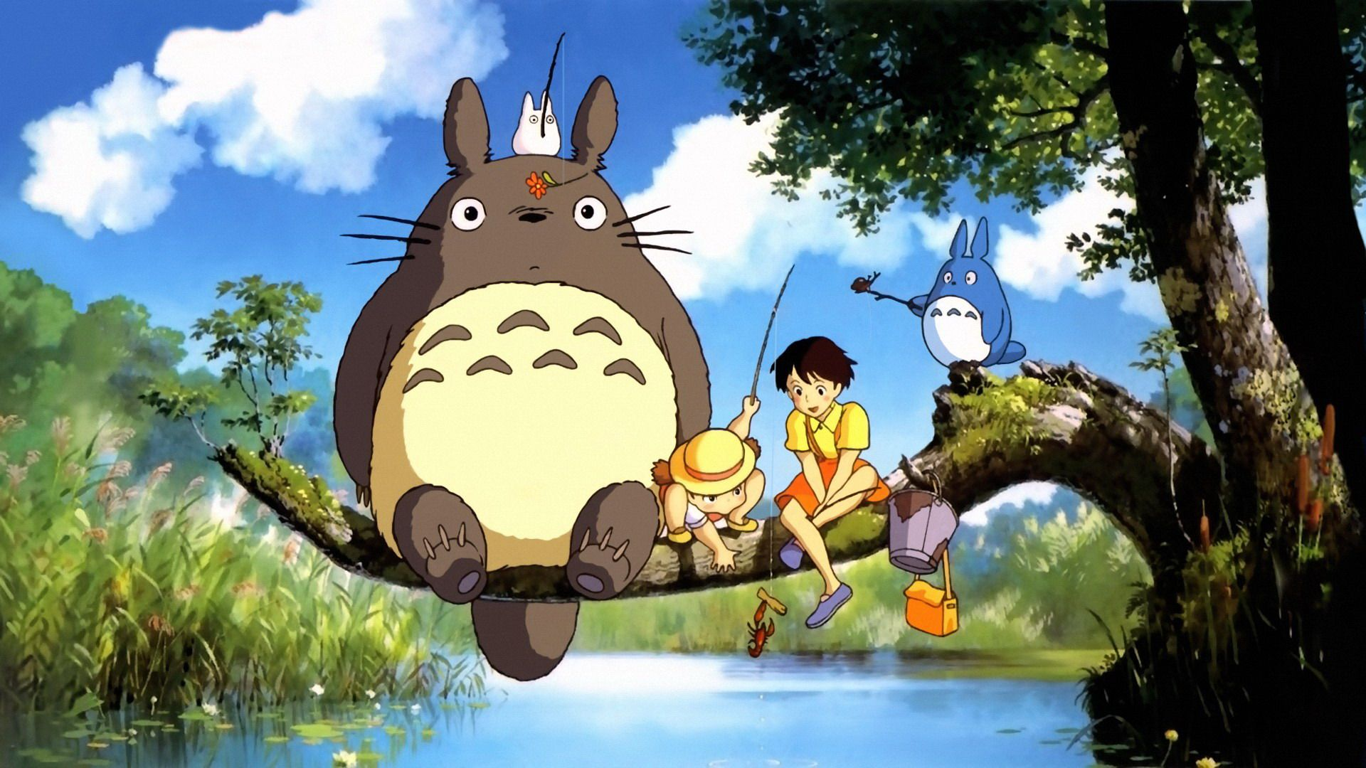 Nice wallpapers My Neighbor Totoro 1920x1080px