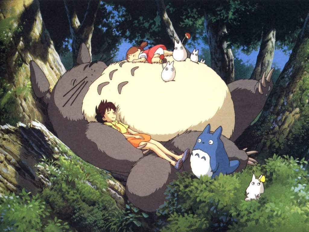 High Resolution Wallpaper | My Neighbor Totoro 1024x768 px