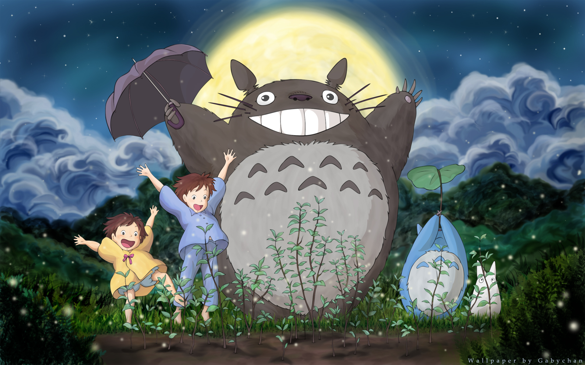 My Neighbor Totoro Backgrounds, Compatible - PC, Mobile, Gadgets| 1920x1200 px