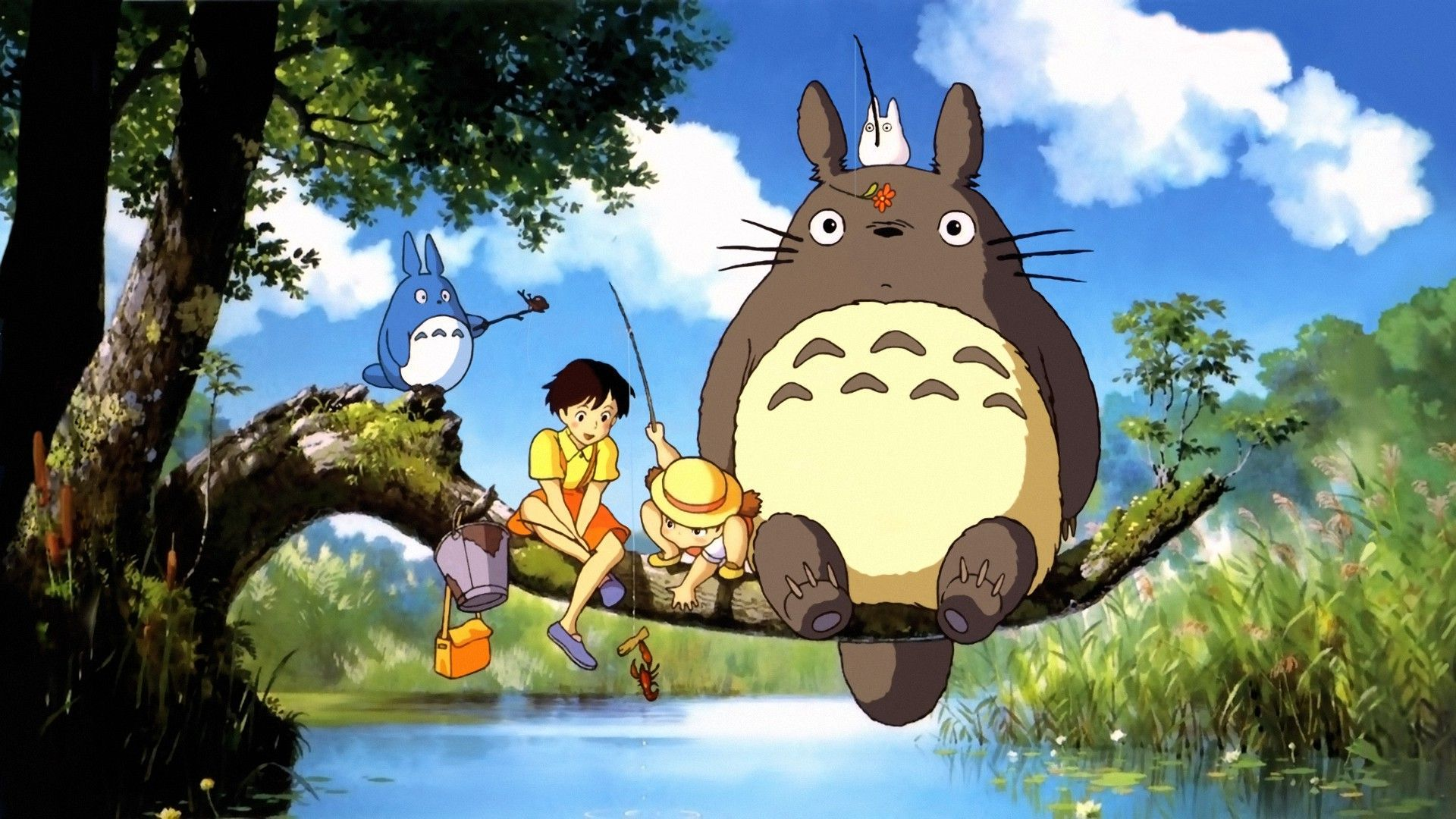 My Neighbor Totoro Backgrounds on Wallpapers Vista