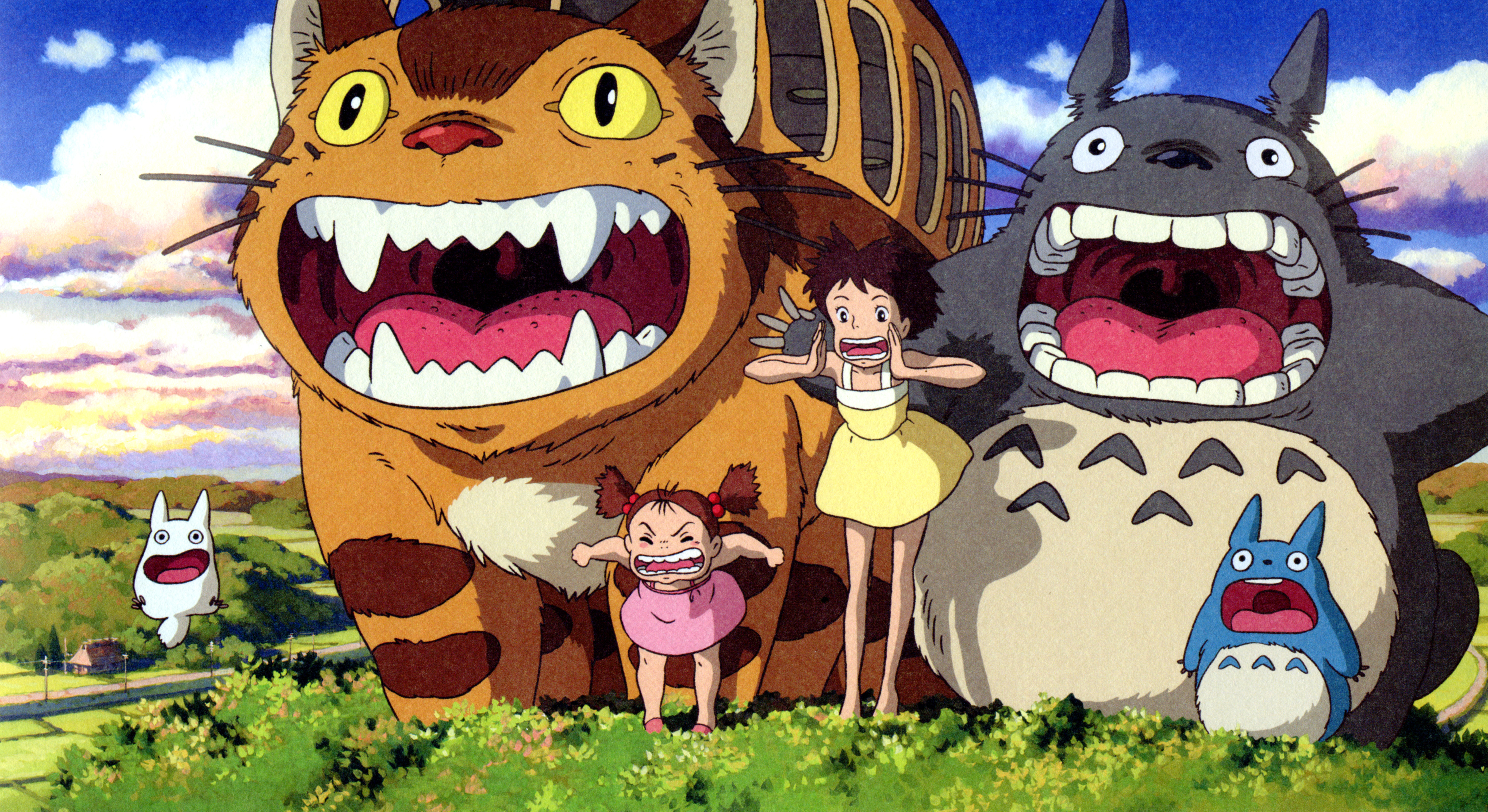HD Quality Wallpaper | Collection: Movie, 5000x2729 My Neighbor Totoro