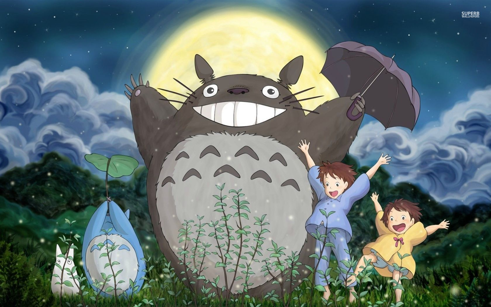 Nice wallpapers My Neighbor Totoro 1680x1050px