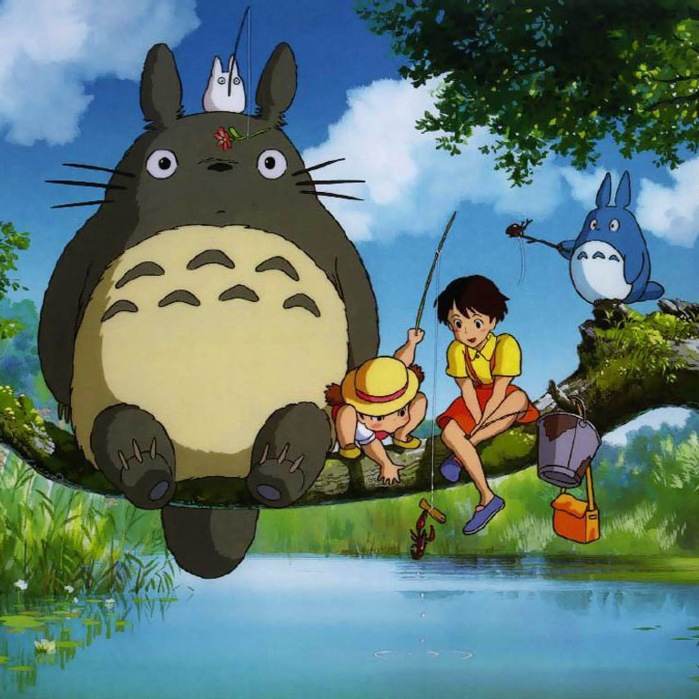High Resolution Wallpaper | My Neighbor Totoro 768x768 px