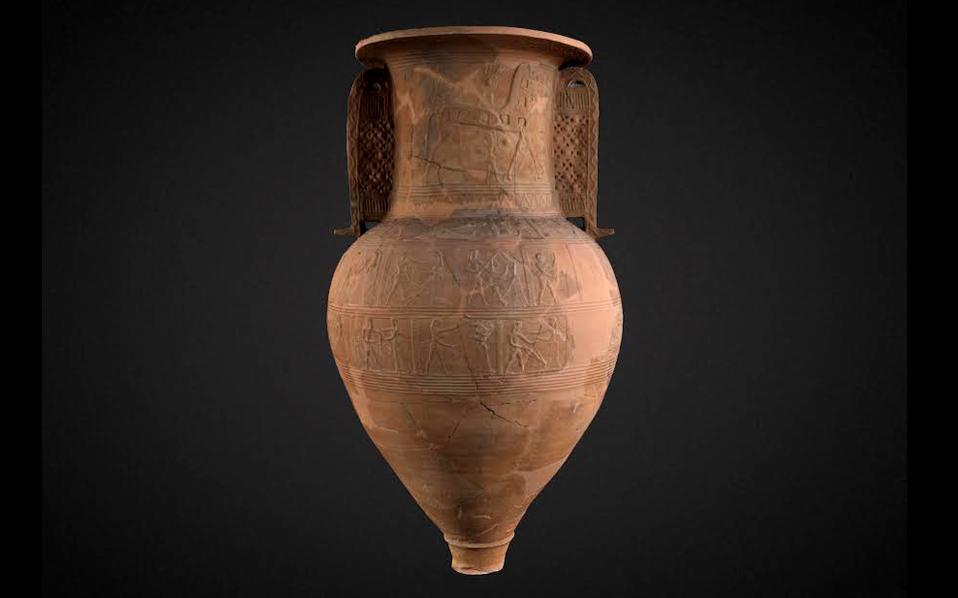 Mykonos Vase Backgrounds, Compatible - PC, Mobile, Gadgets| 958x598 px