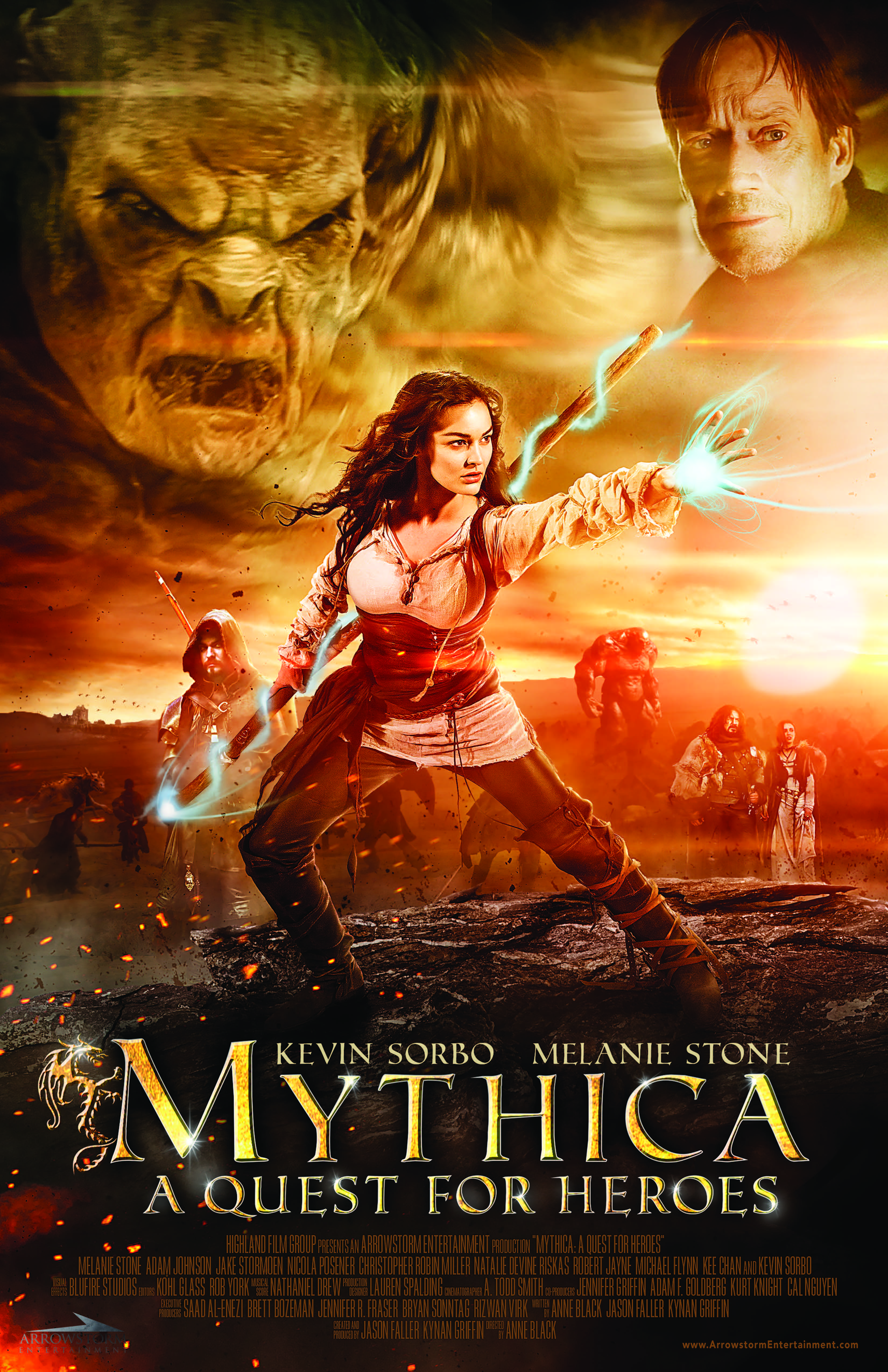 Mythica: The Necromancer Pics, Movie Collection