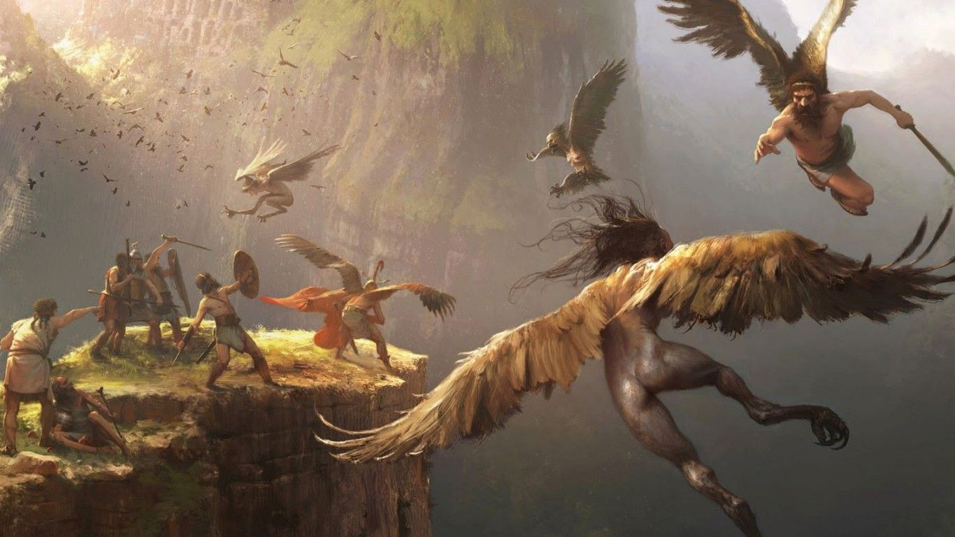 Mythology Backgrounds, Compatible - PC, Mobile, Gadgets| 1366x768 px