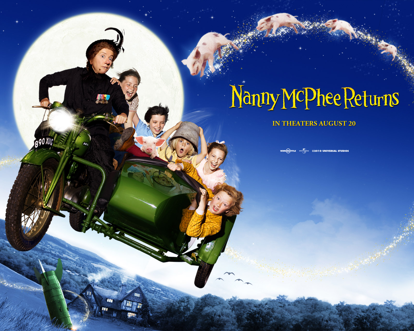 Nanny McPhee Returns Backgrounds on Wallpapers Vista