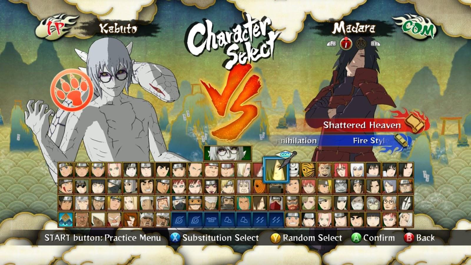 Naruto shippuden: ultimate ninja storm 3 full burst (usa) pc.