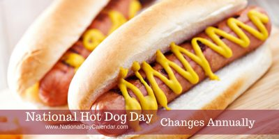Nice wallpapers National Hot Dog Day 400x200px