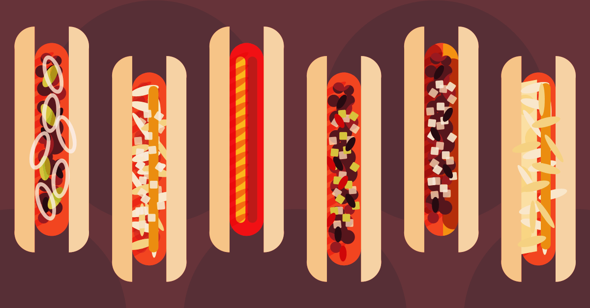 HD Quality Wallpaper | Collection: Holiday, 1200x627 National Hot Dog Day
