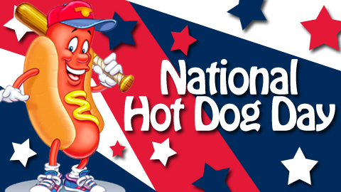 National Hot Dog Day Pics, Holiday Collection