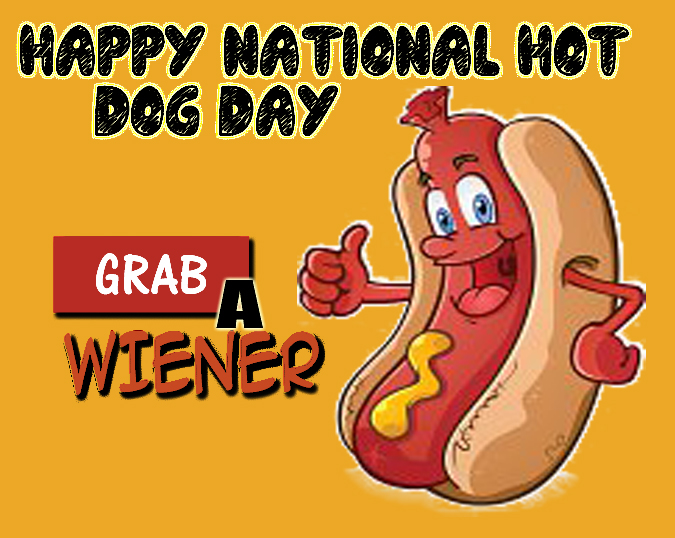 Images of National Hot Dog Day | 675x538