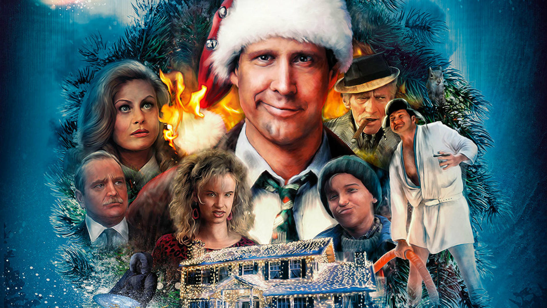 National Lampoon's Christmas Vacation Backgrounds, Compatible - PC, Mobile, Gadgets| 1920x1080 px