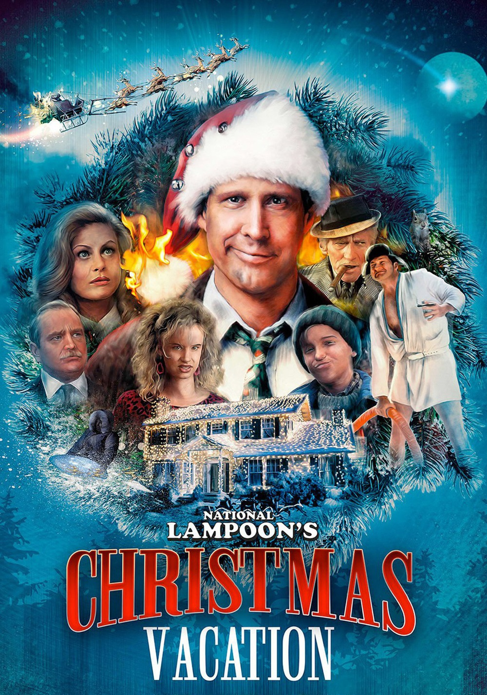 Nice wallpapers National Lampoon's Christmas Vacation 1000x1426px