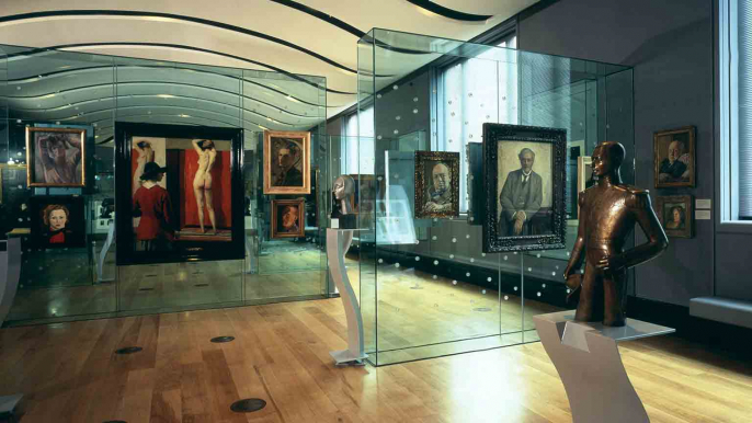 Nice wallpapers National Portrait Gallery, London 686x386px
