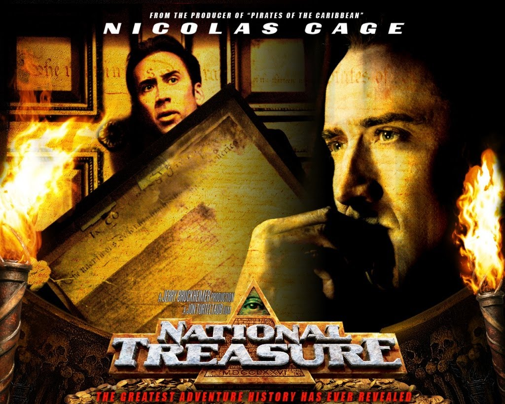 High Resolution Wallpaper | National Treasure 1024x819 px