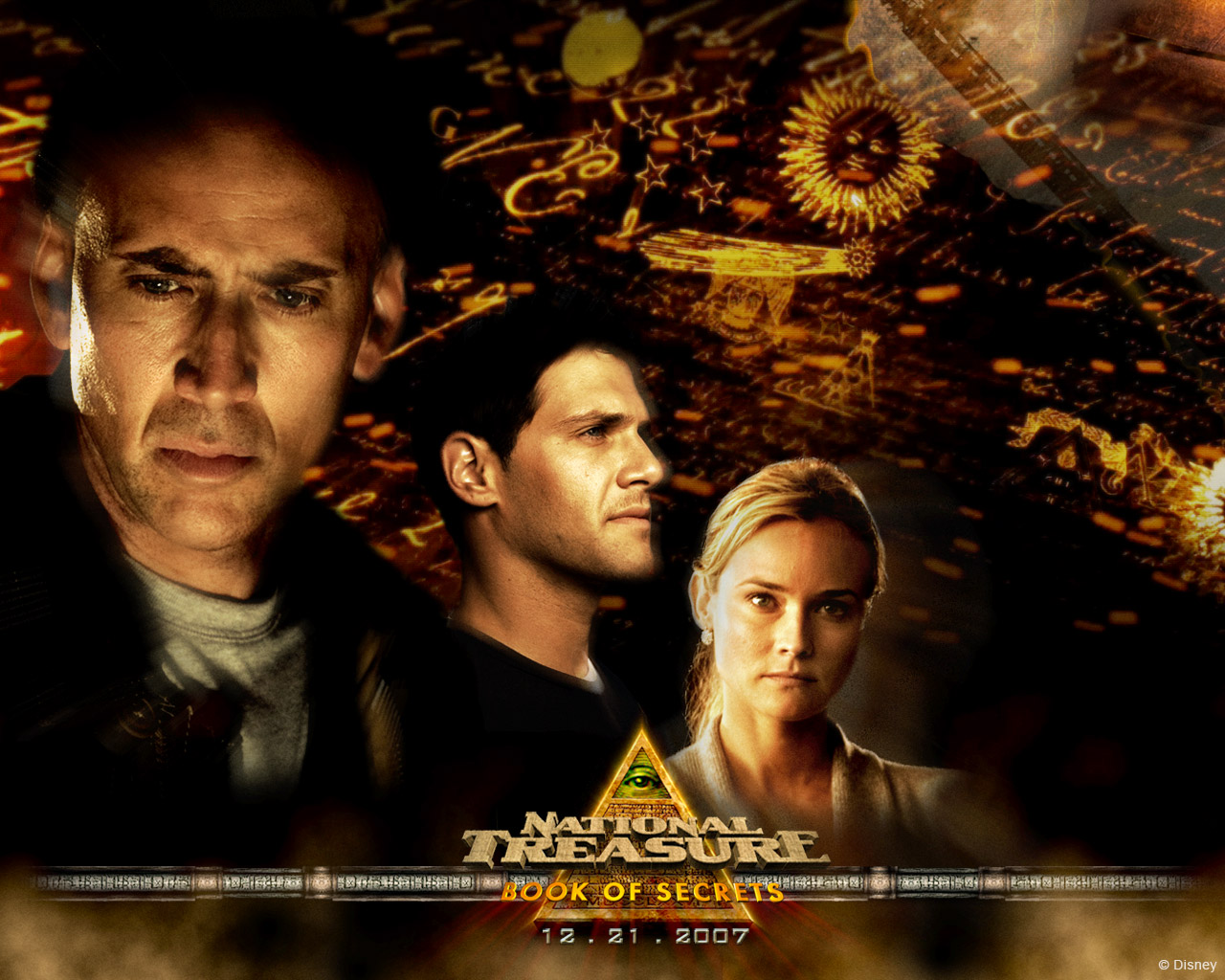 HQ National Treasure: Book Of Secrets Wallpapers | File 324Kb